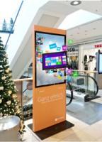 3D Advertising lightbox in Shopping Centre